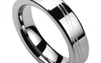NUBIS® NWF1042 Dámský snubní prsten wolfram -…