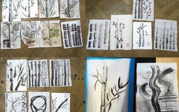 Tajemství kaligrafie - malba čínskou tuší