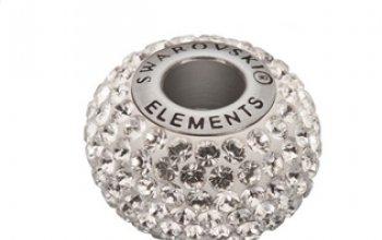 Navlékací přívěšek korálek s krystaly Swarovski®,…
