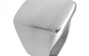 Extravagantní ocelový prsten - velikost 52 -…