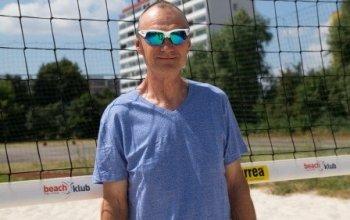 Trénink s mistry beach volejbalu