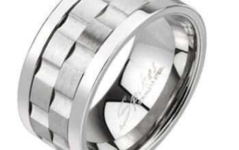Pánský rotační antistresový prsten - velikost 65 …