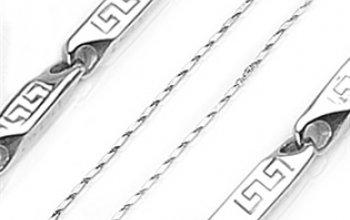 Ocelový řetízek s aztéckými symboly - OPE1107-040…