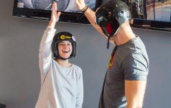 Větrný tunel VR (létání ve virtuální realitě)