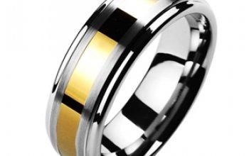 NUBIS® NWF1024 Dámský snubní prsten wolfram -…